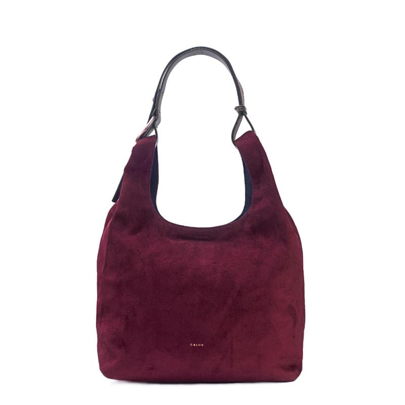 Hobo Bag - Wine Red