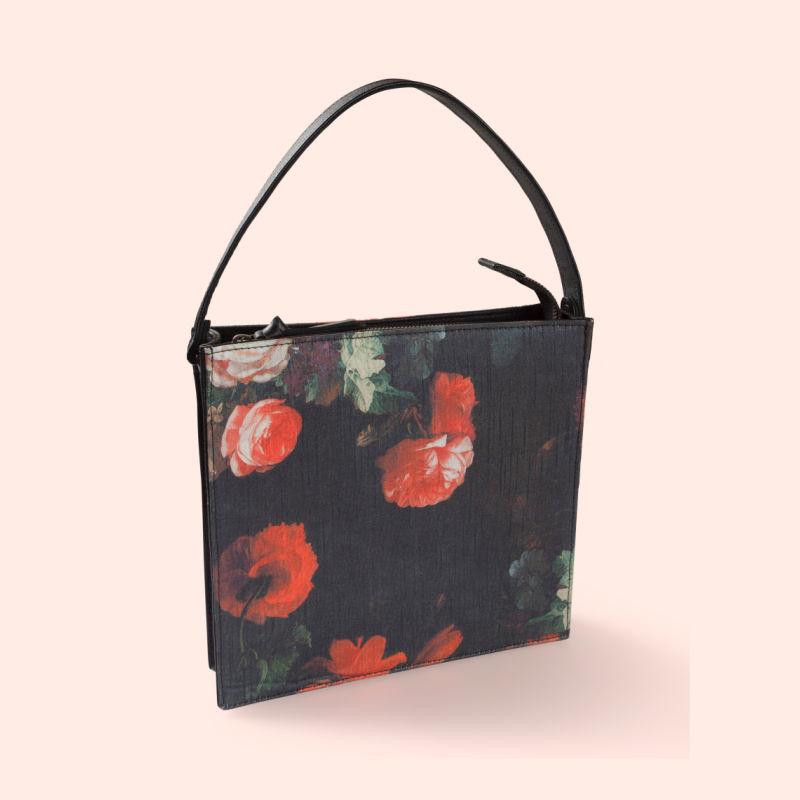 Rosa square box sling bag