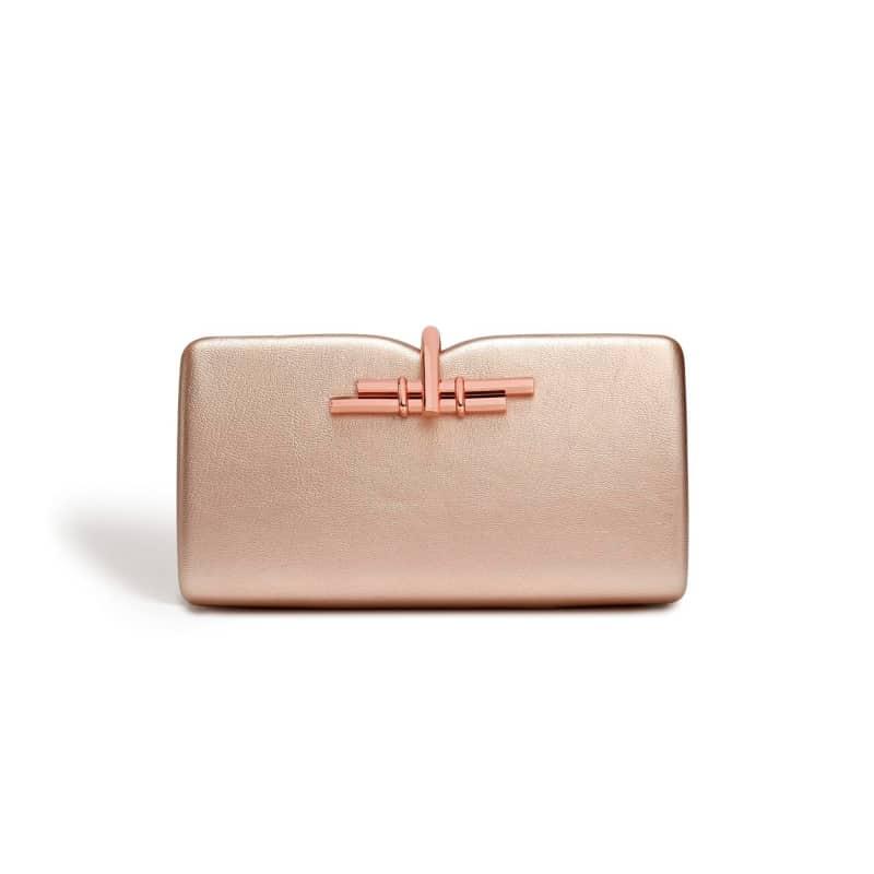 Allegro Rose Gold Clutch Bag