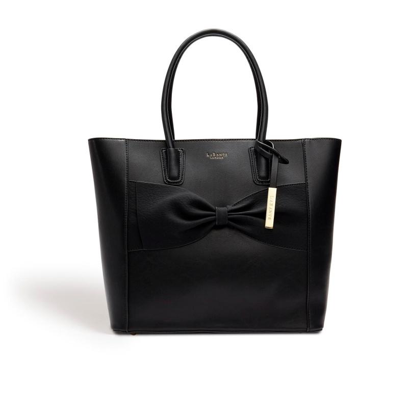 Eufala Black Tote Bag