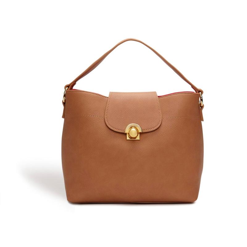 Sara Brown Hobo Bag