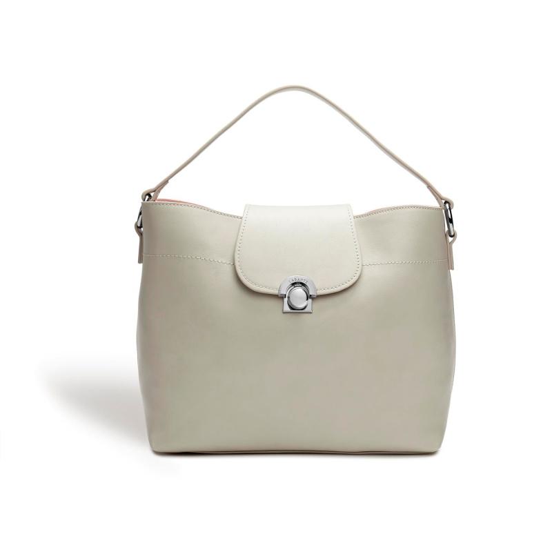 Sara Taupe Hobo Bag