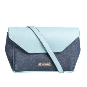 Blue Denim Sling Bag