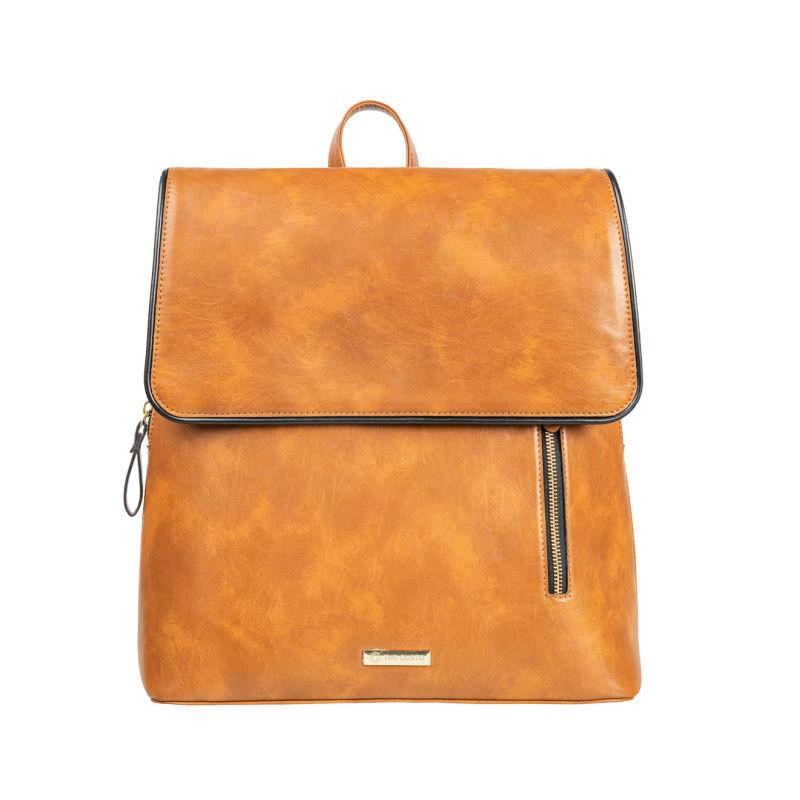 Tan Parker Laptop Backpack