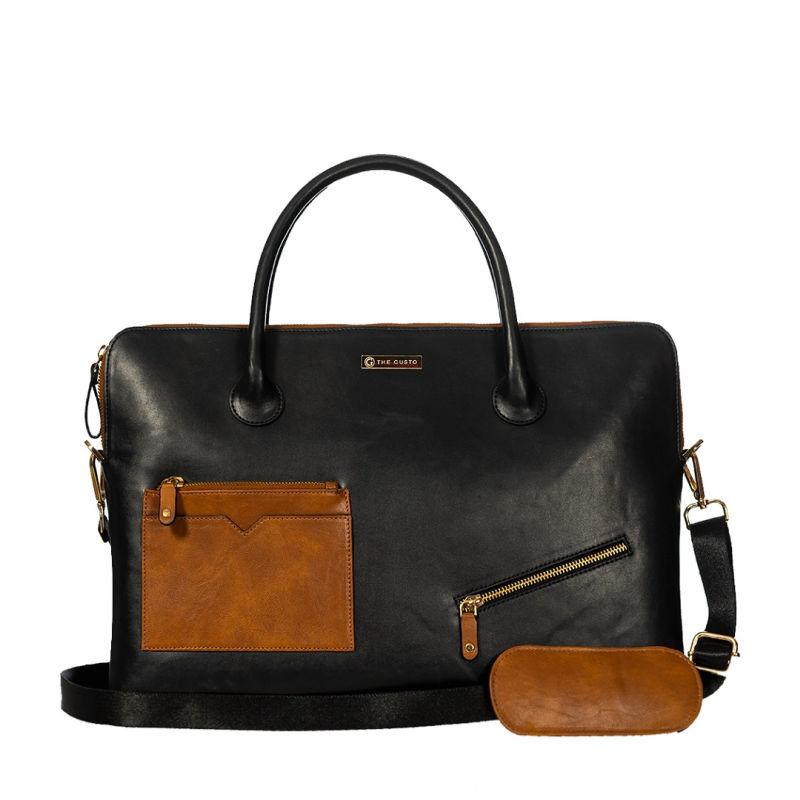 Black Parker Laptop Bag