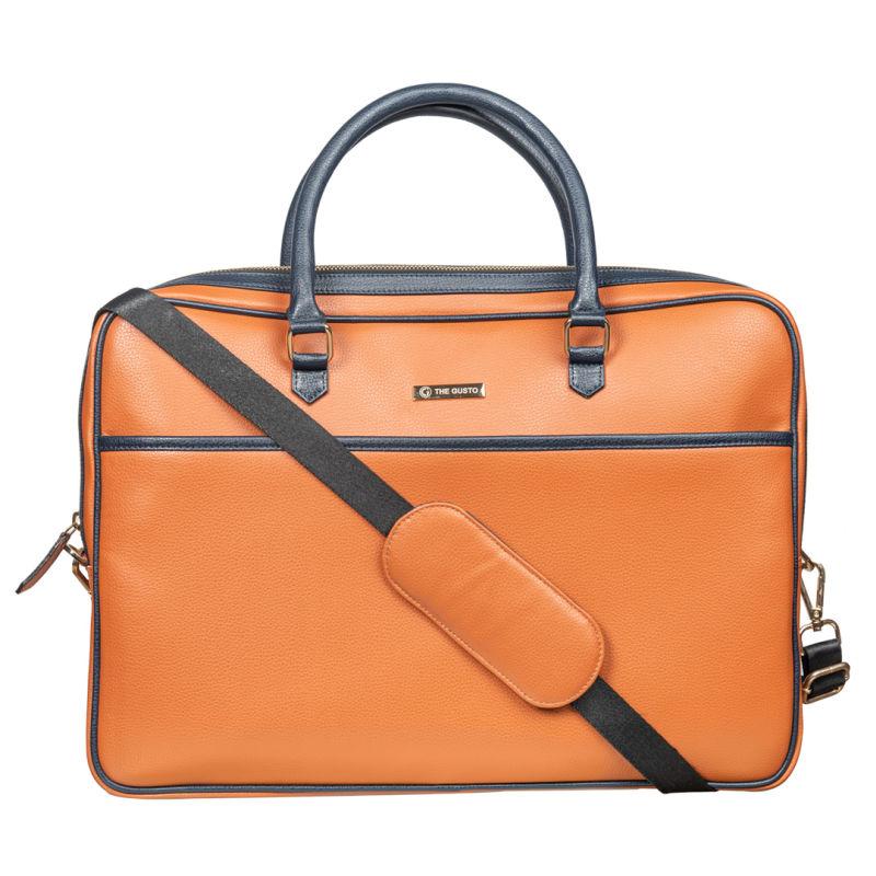 Tan Henry Laptop Bag