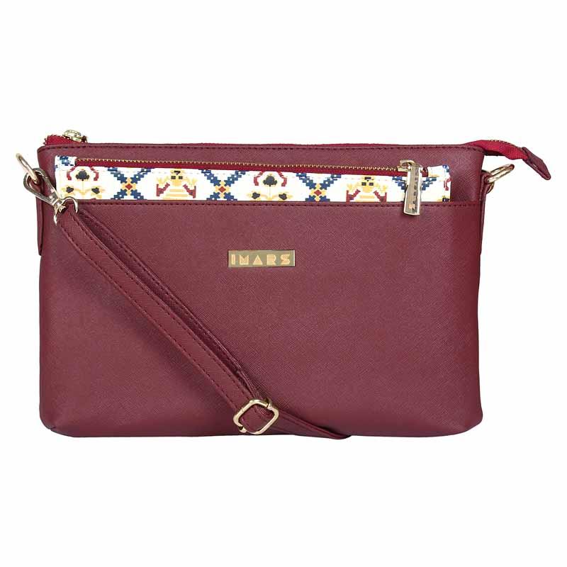 IMARS FASHION Sling Bag Cherry Patola