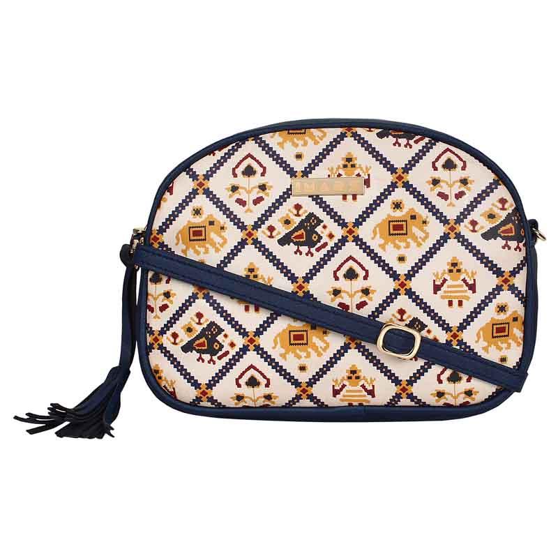 IMARS FASHION Crossbody Sling Bag-Blue Patola