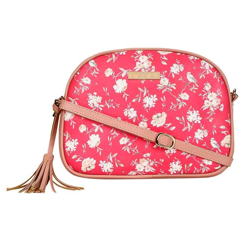 IMARS FASHION Crossbody Sling Bag-Pink Floral