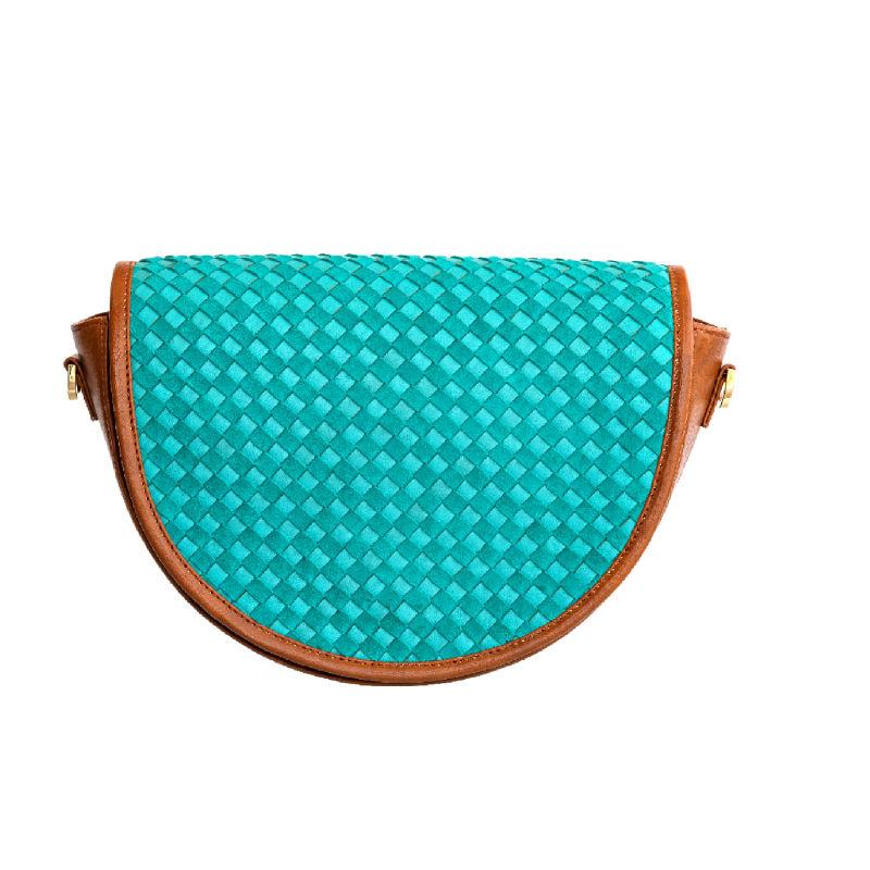 Green Halfmoon shoulder bag