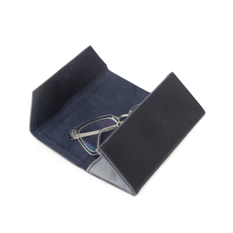 Foldable Sunglasses Holder - Darkest Blue