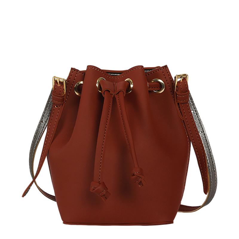 Penny Wine Bucket Bag