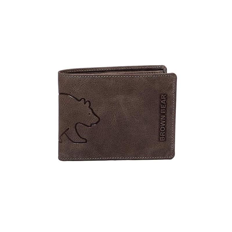 Brown Bear Design Germany Men's Wallet  BBCL-8005 : Grey
