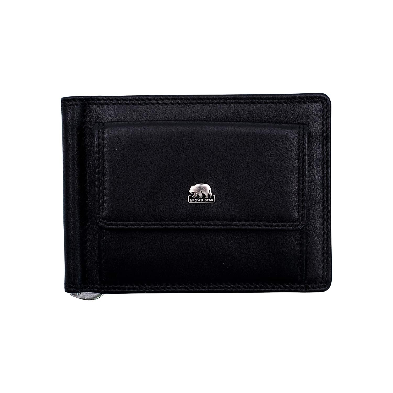 Brown Bear Design Germany Clip Wallet : BB CL 1747 P Black/Red