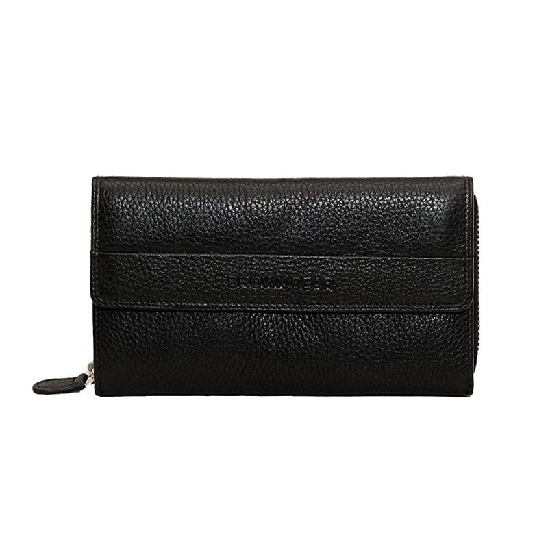 Brown Bear Design Germany  Women's wallet :  BB Napoli 63 Black
