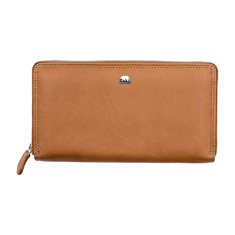 Brown Bear Design Germany Ladies Wallet - BB Leoni Camel