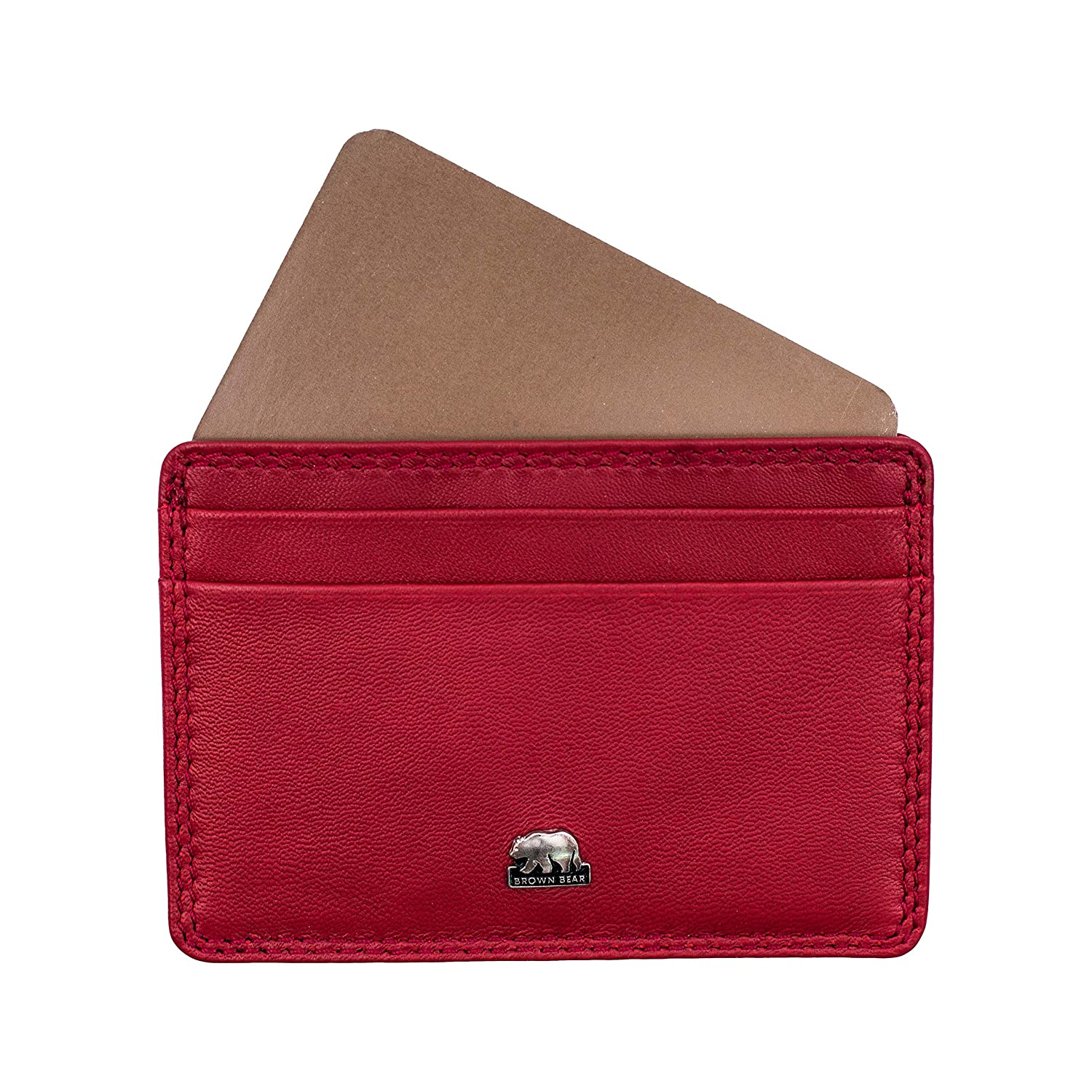 Brown Bear Design Germany Card Holder BBCL CC 4 Red