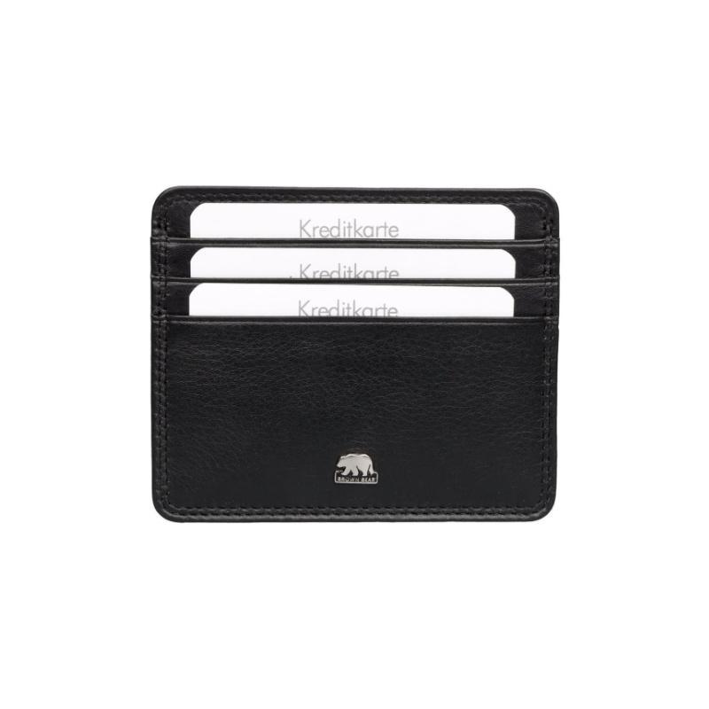 Brown Bear Design Germany Card Holder BBCL CC 6 Black