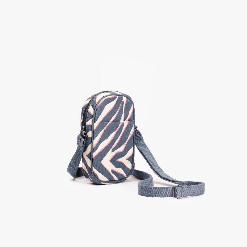 Tiger Stripes Crossbody Mobile Sling Bag