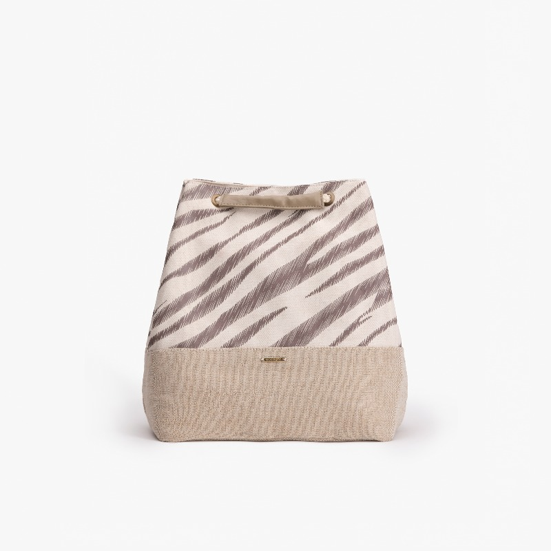Zebra Stripes Convertible Backpack