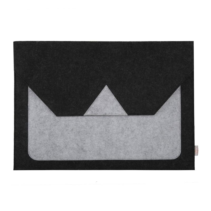OON Felt Laptop Sleeve - Mash up Grey
