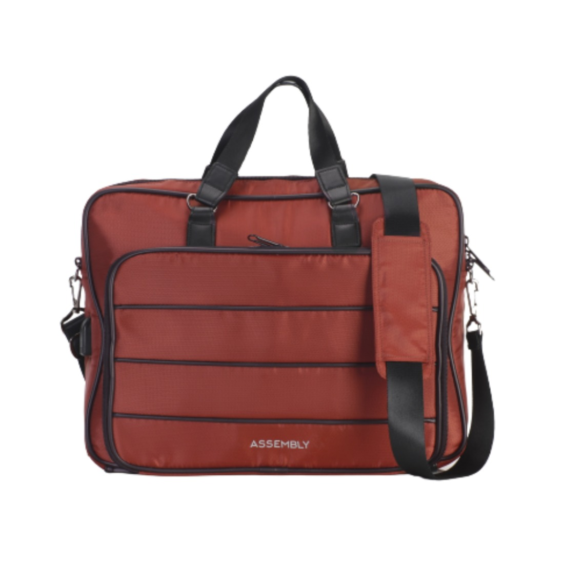THE ASSEMBLY Laptop Messenger Bag with USB Charging Port
