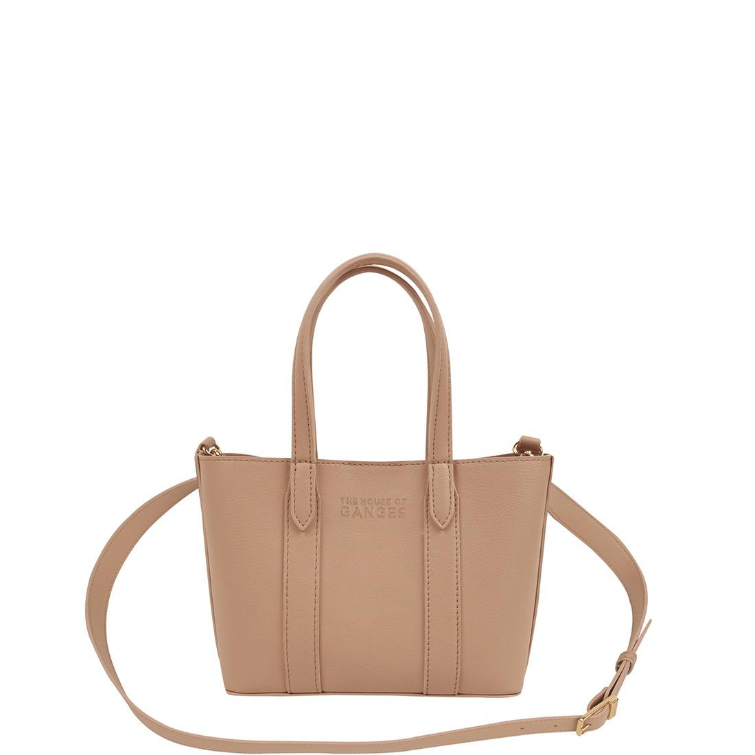 Mini Carryall Nude Tote Bag