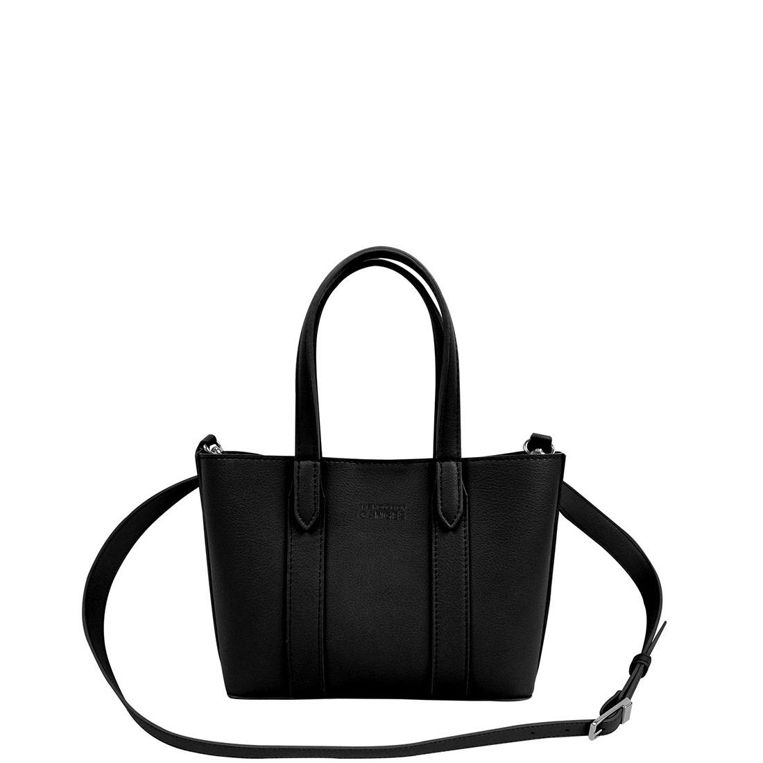 Mini Carryall Black Tote Bag